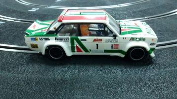 Fiat 131 Abarth Scalextric